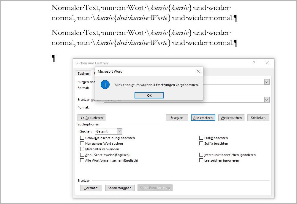 Text suchen und erweitern 9