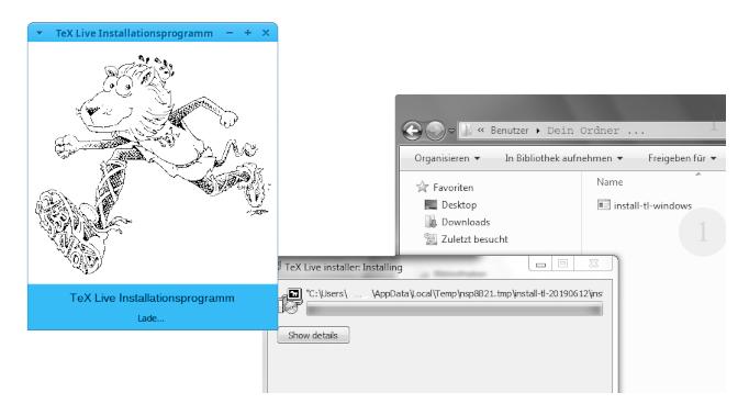 TeX Live: Installieren mit Windows 6